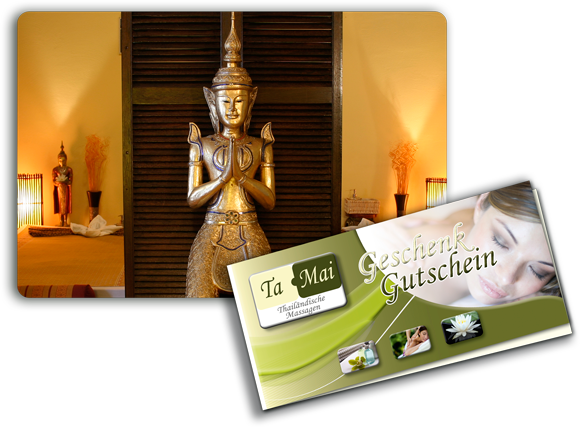 Massagegutschein für Traditionelle Thaimassage